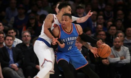 Westbrook, con otro triple-doble, Abrines y Towns sobresalen en la NBA